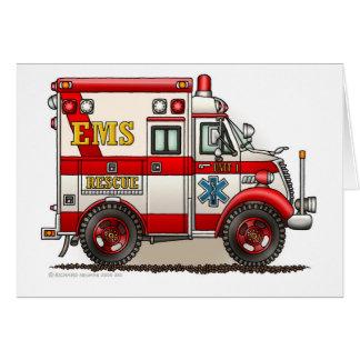 Cartes Urgence de l'ambulance SME EMT de boîte