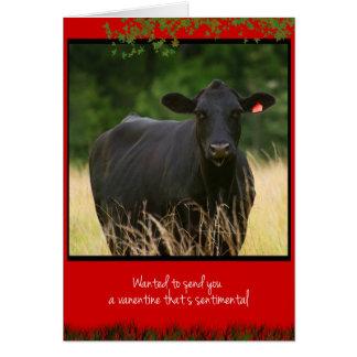 Cartes Vache Valentine