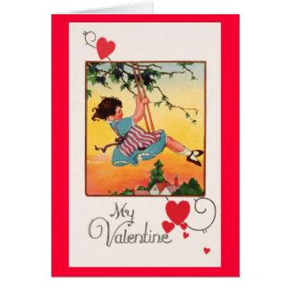 Cartes Valentine de oscillation