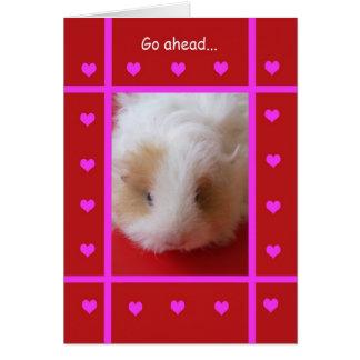 Cartes Valentine drôle -- Grossier