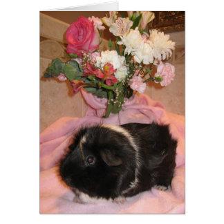 Cartes Valentine floral épicé