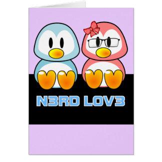 Cartes Valentine nerd : Le geek Leet d'ordinateur parlent