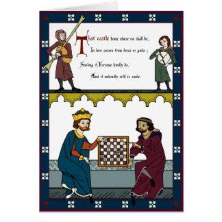 Cartes Valentine pour des amants d'échecs