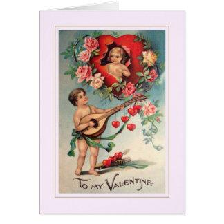 Cartes Valentine vintage