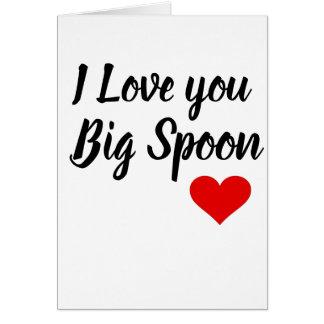 Cartes Valentines d'ami Carte-administrant le Carte-Mari
