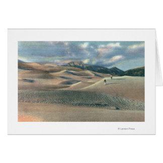 Cartes Vallée de San Luis, le Colorado - grandes dunes de