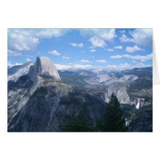 Cartes Vallée de Yosemite de point de glacier