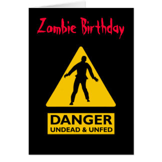 Cartes Vampires de zombi et Unfed