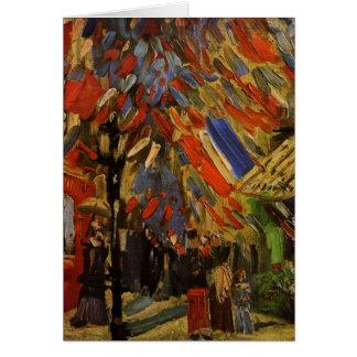 Cartes Van Gogh ; 14ème de la célébration de juillet à