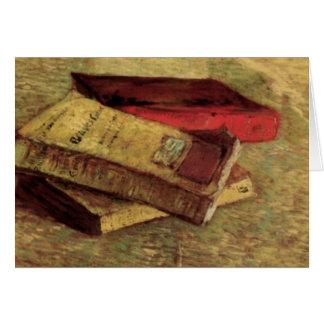 Cartes Van Gogh ; La vie toujours avec trois livres, art