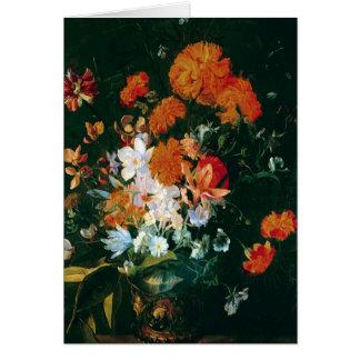 Cartes Vase de fleurs