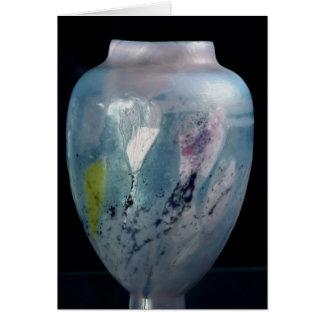 """Cartes Vase en cristal, """"d'Automne de Les Veilleuses"""","""