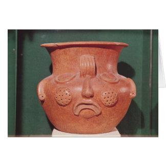 Cartes Vase globulaire avec un visage, de Kalminaljuy