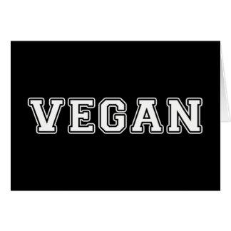 Cartes Végétalien