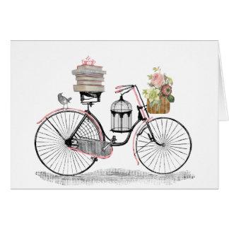 Cartes Vélo de poussée d'imaginaire