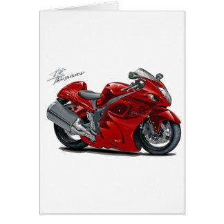 Cartes Vélo de rouge de Hayabusa