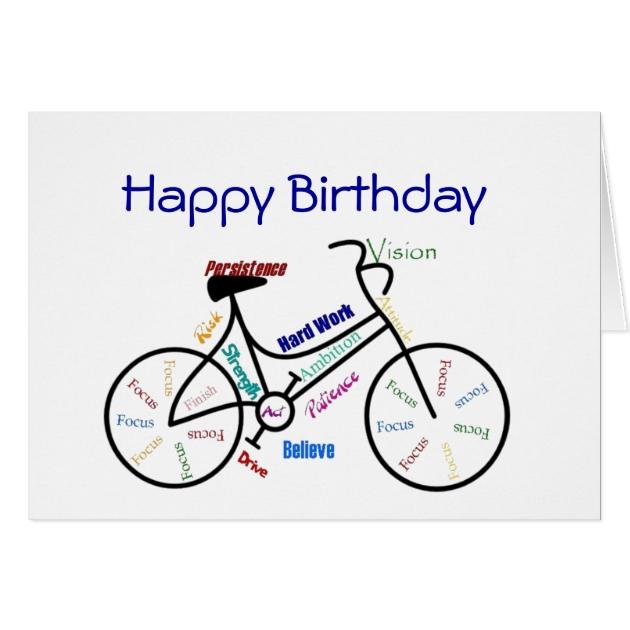 Top Cartes Vélo drôle d'anniversaire d'âge, faisant un cycle,   Zazzle.fr OG72