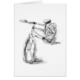 Cartes Vélo II de dessin d'art de sports