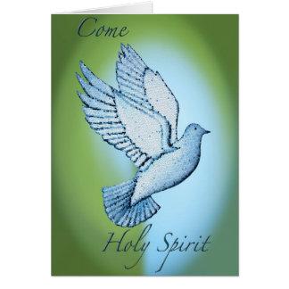 Cartes Venez le Saint-Esprit