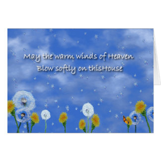 Cartes Vents chauds de ciel
