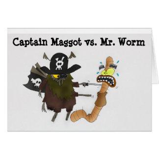 Cartes Ver contre capitaine Maggot