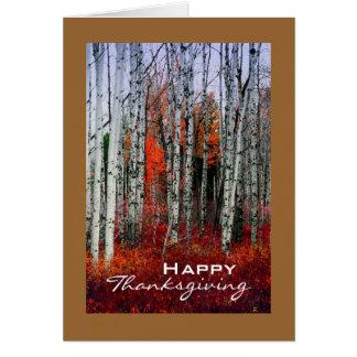 Cartes Verger d'Aspen d'automne, thanksgiving