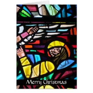 Cartes verre de Joyeux Noël