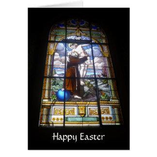 Cartes verre de Pâques