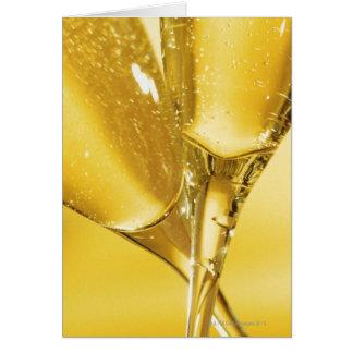 Cartes Verres de Champagne