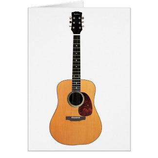 Cartes Verticale de guitare acoustique