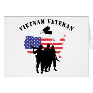 Cartes Vétéran du Vietnam