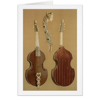 Cartes Vétiver de DA d'alto, ou viole basse, par Joachim