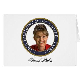 Cartes Vice-président Sarah Palin
