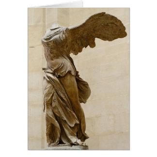 Cartes Victoire à ailes de Samothrace