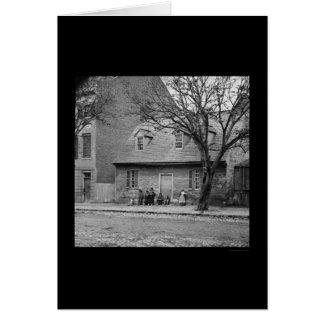 Cartes Vieille Chambre en pierre à Richmond, VA 1865
