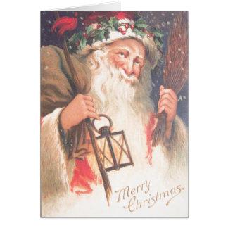 Cartes Vieille Saint-Nicolas avec le cru de lanterne