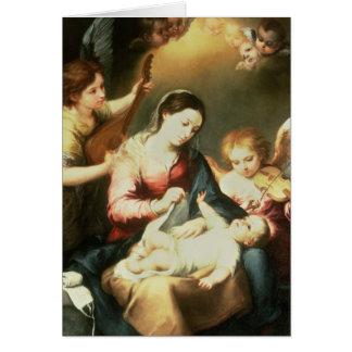 Cartes Vierge des vêtements s'enveloppants