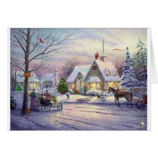Cartes vieux-temps-Noël