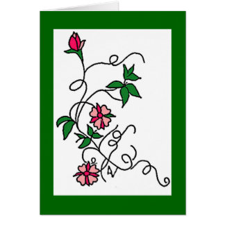 Cartes Vignes de fleur