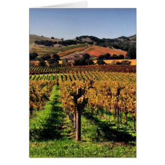 Cartes Vignoble de Napa Valley