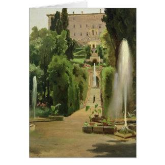 Cartes Villa D'Este, Tivoli, 1869