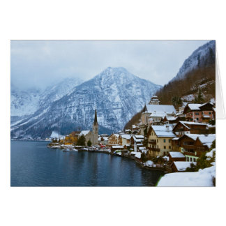 Cartes Village Hallstatt sur le lac - Salzbourg Autriche