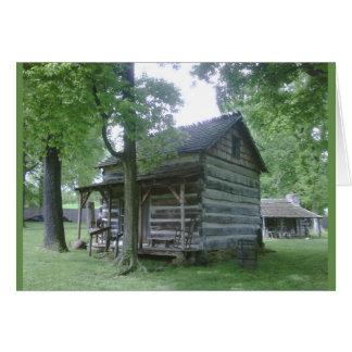 Cartes Village pionnier de Lincoln, Rockport, Indiana