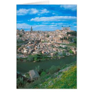 Cartes Ville antique de Toledo, Espagne