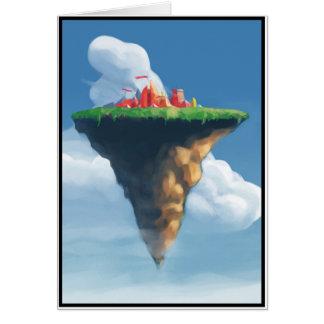 Cartes Ville dans les nuages
