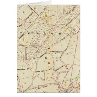 Cartes Ville de Mamaroneck, New York