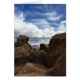 Cartes Ville des roches dans Deming, nanomètre