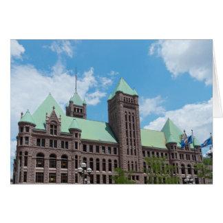 Cartes Ville hôtel de Minneapolis