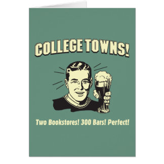 Cartes Villes d'université : 2 librairies 300 barres