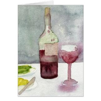 Cartes Vin Rosso
